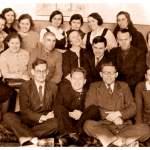 Учителя школы, январь 1941 года