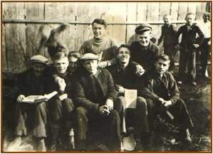 Богодухов М. второй слева сидит