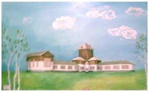 Школа Ван Лохема (школа Кемрудника). Довоенное здание