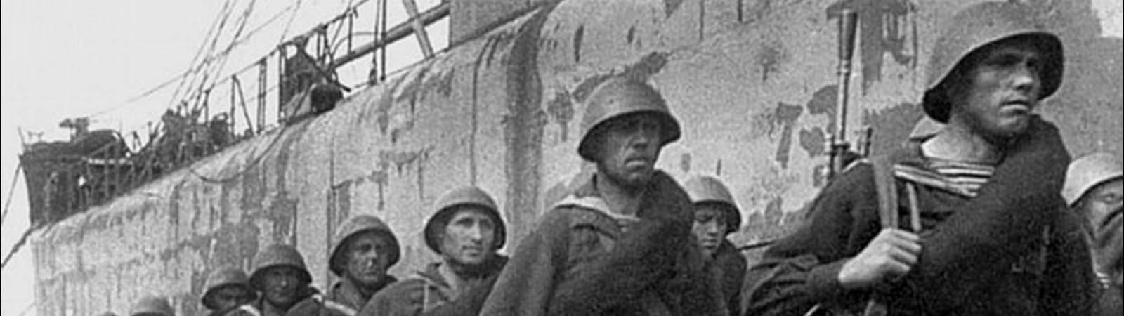 Солдаты на передовую