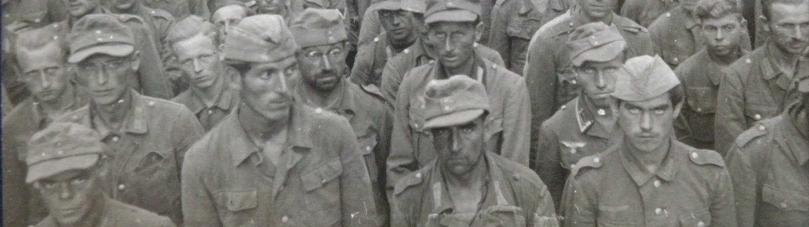 Пленные немцы 1945