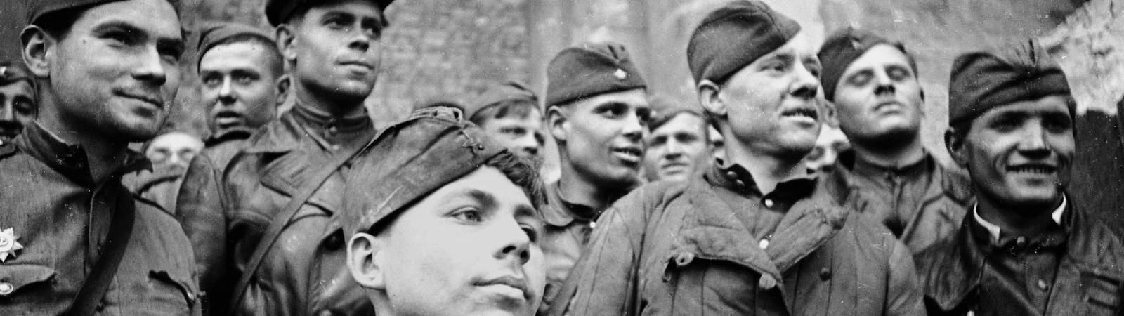 Солдаты 1945