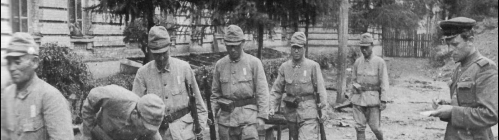 Японские солдаты