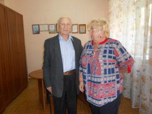 В.У.Кособуцкий и Душкина И.Ю.-директора школы