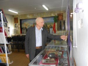 В.У.Кособуцкий у витрины