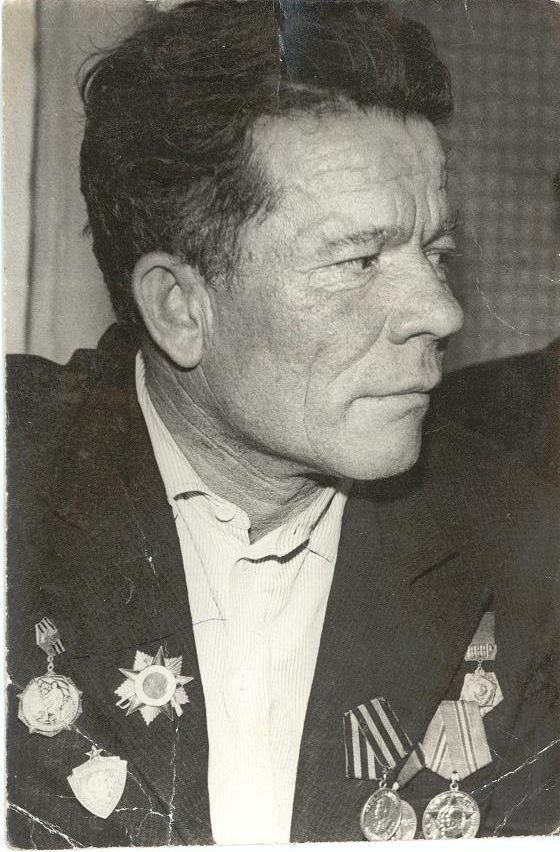 Васькин Дмитрий Васильевич, огнеметчик