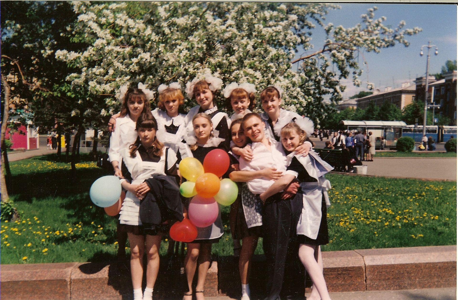 весна выпускники школа 16 Кемерово