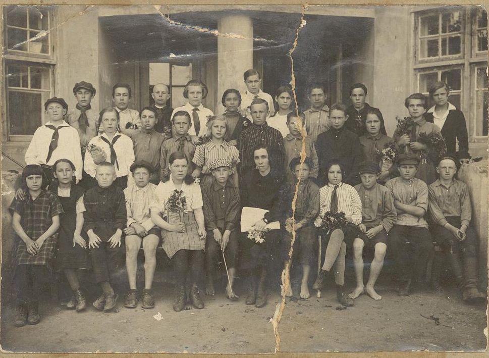 1928 год 4 класс школа 16 Кемерово