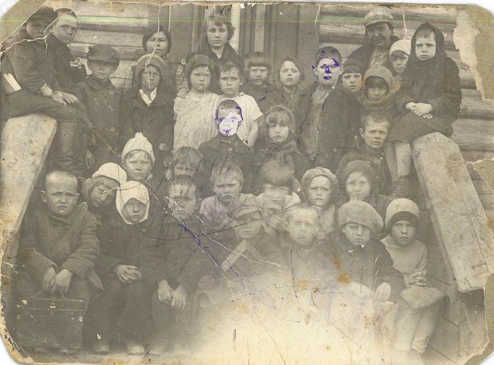1931 весна 1 кл. школа 16 Кемерово из архива семьи Измаденовых