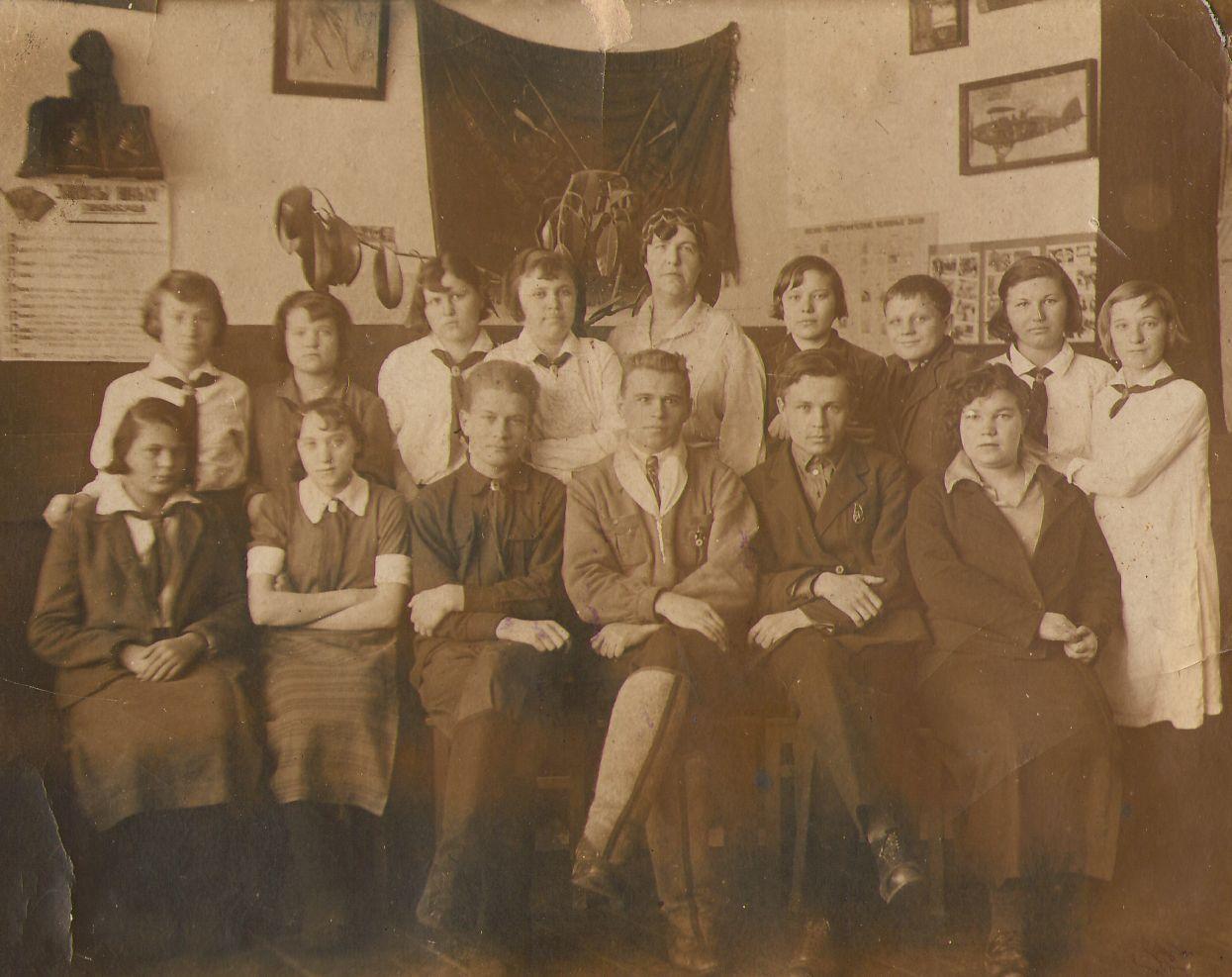 1935 год школа 16 Кемерово