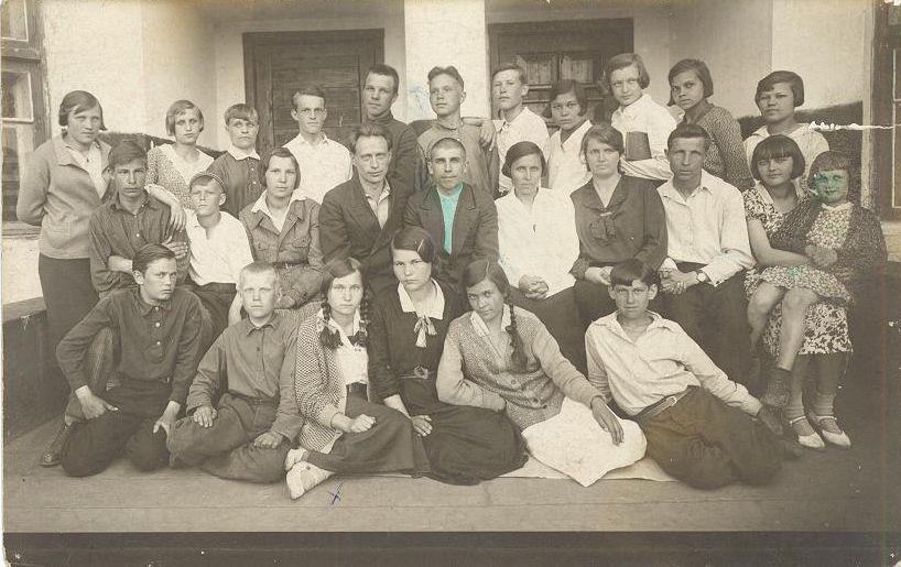 1936 год 7 а кл школа 16 Кемерово