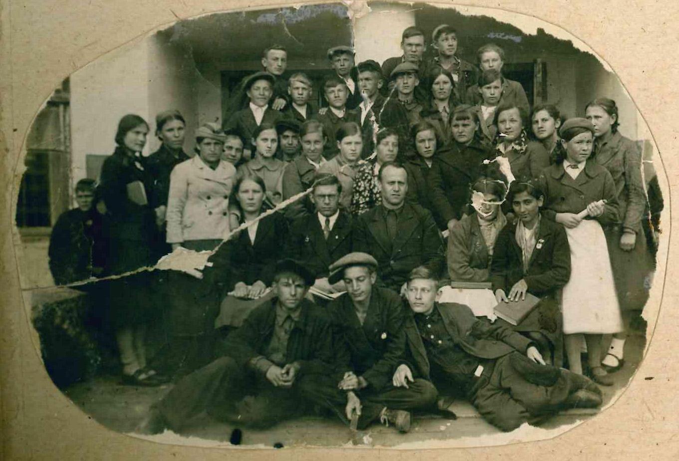 1938 год 7 класс школа 16 Кемерово