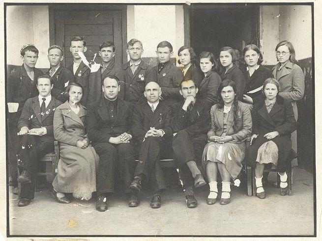 1939 год 10 кл. школа 16 Кемерово