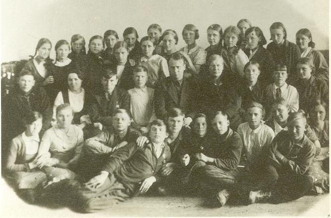 1940 7 Б кл школа 16 Кемерово