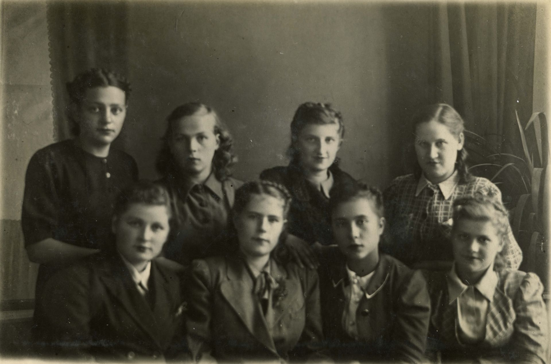 1944год 12 окт. 10 кл. школа 16 Кемерово