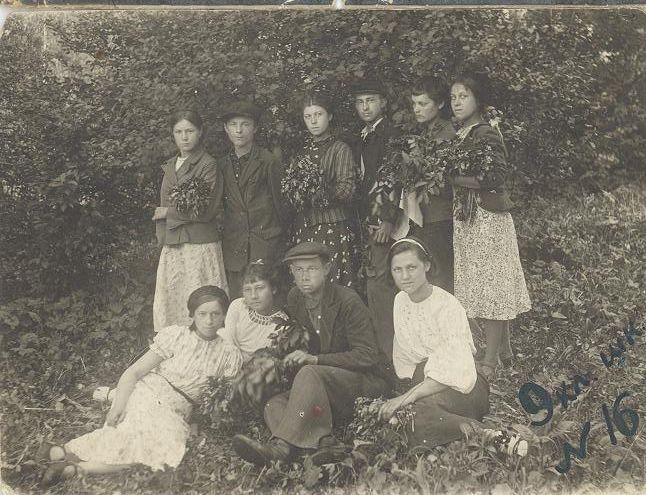 1950-е 9 кл. 16-й школы Кемерово