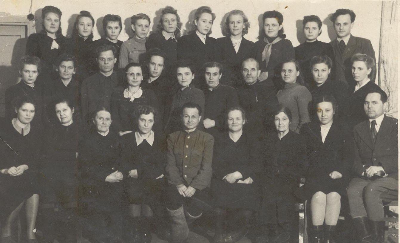 1950 педколлектив школа 16 Кемерово