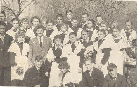 1957 год школа 16 Кемерово