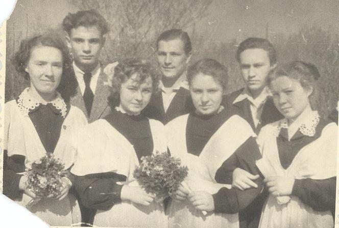 1958г 10А кл школа 16 Кемерово