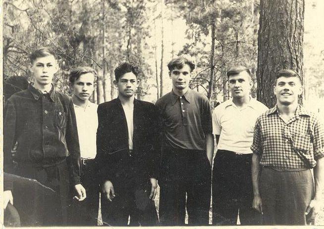 1958 год 10 кл школа 16 Кемерово