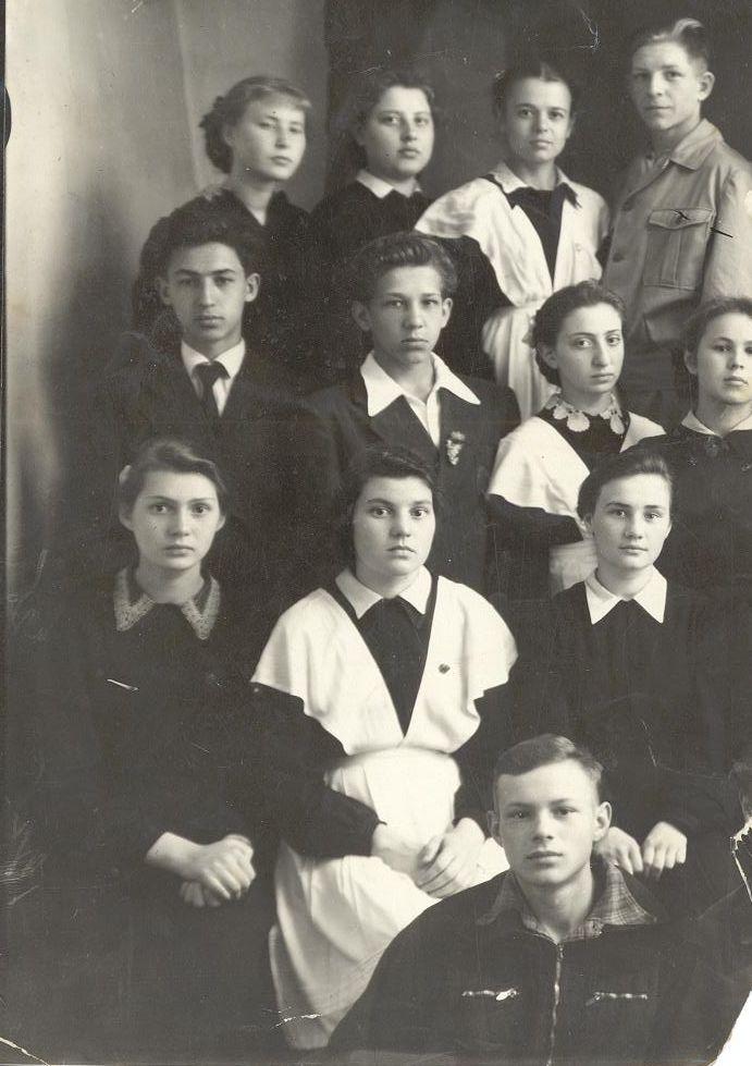 1959 год 9 кл. школа 16 Кемерово