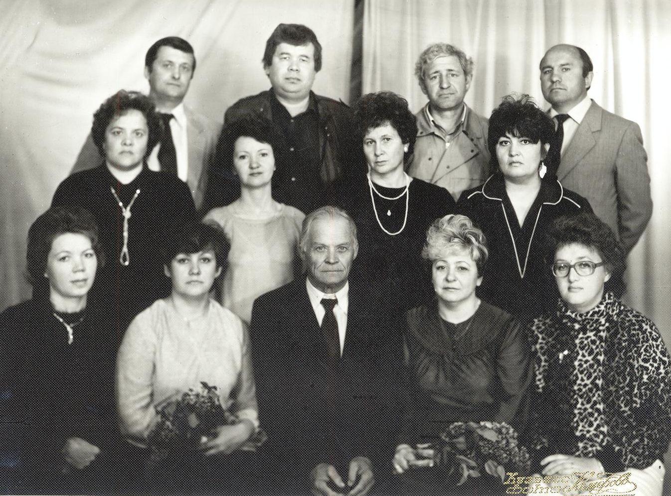 1961 год ВЫПУСК СПУСТЯ 10 ЛЕТ школа 16 Кемерово