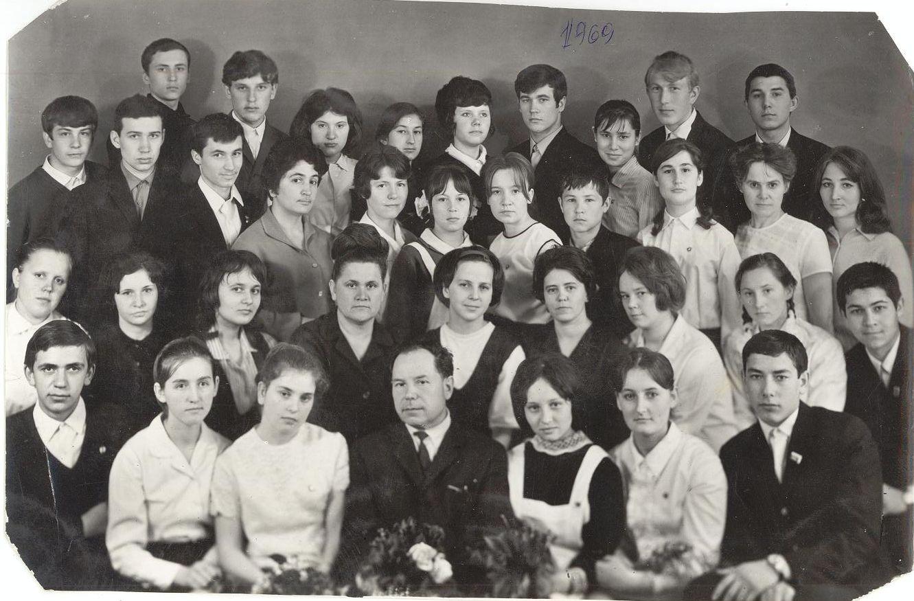 1969 год 10 кл школа 16 Кемерово