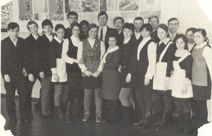 1971 год 10 кл школа 16 Кемерово