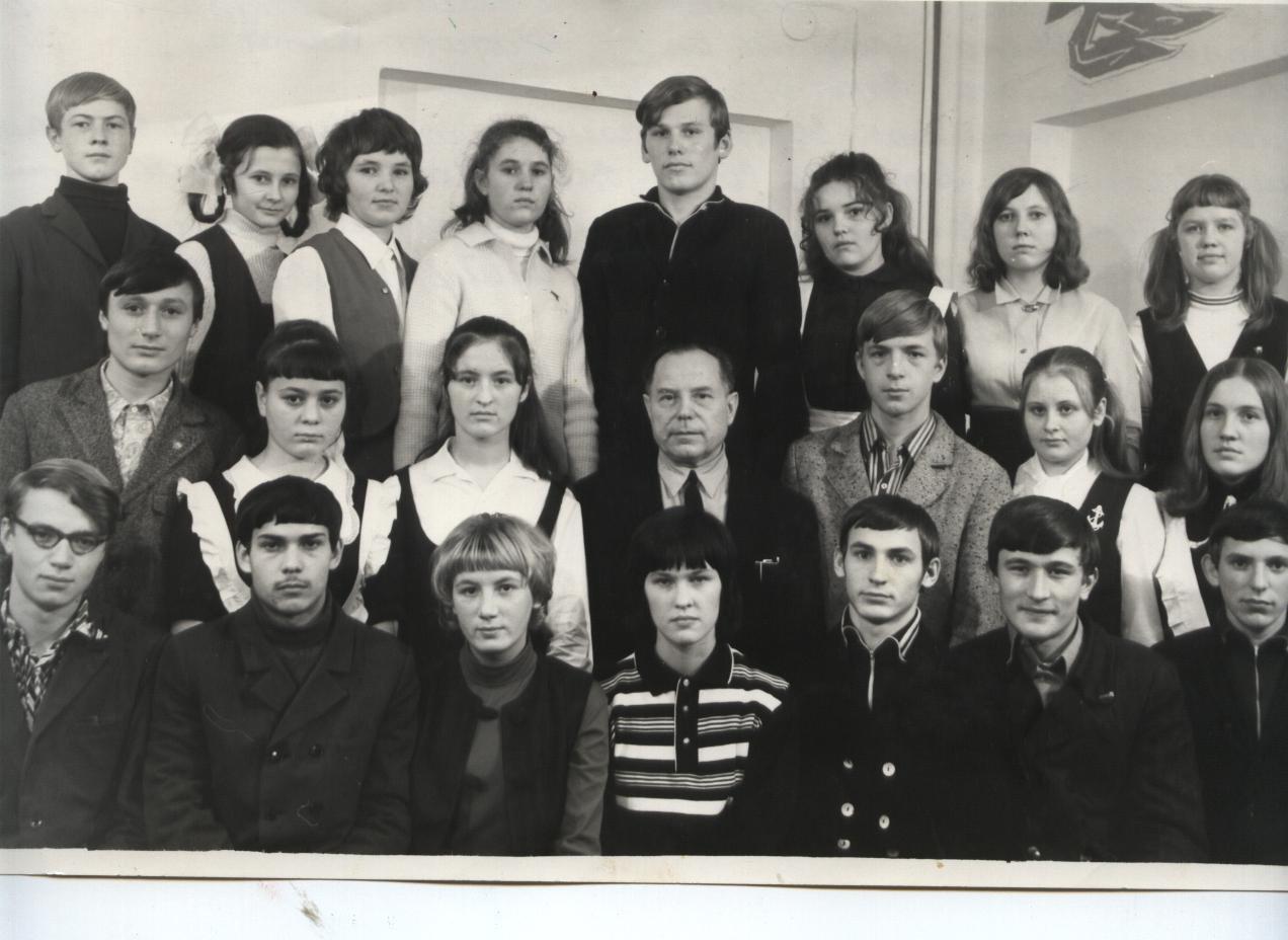 1971 год 9 Г класс школа 16 Кемерово