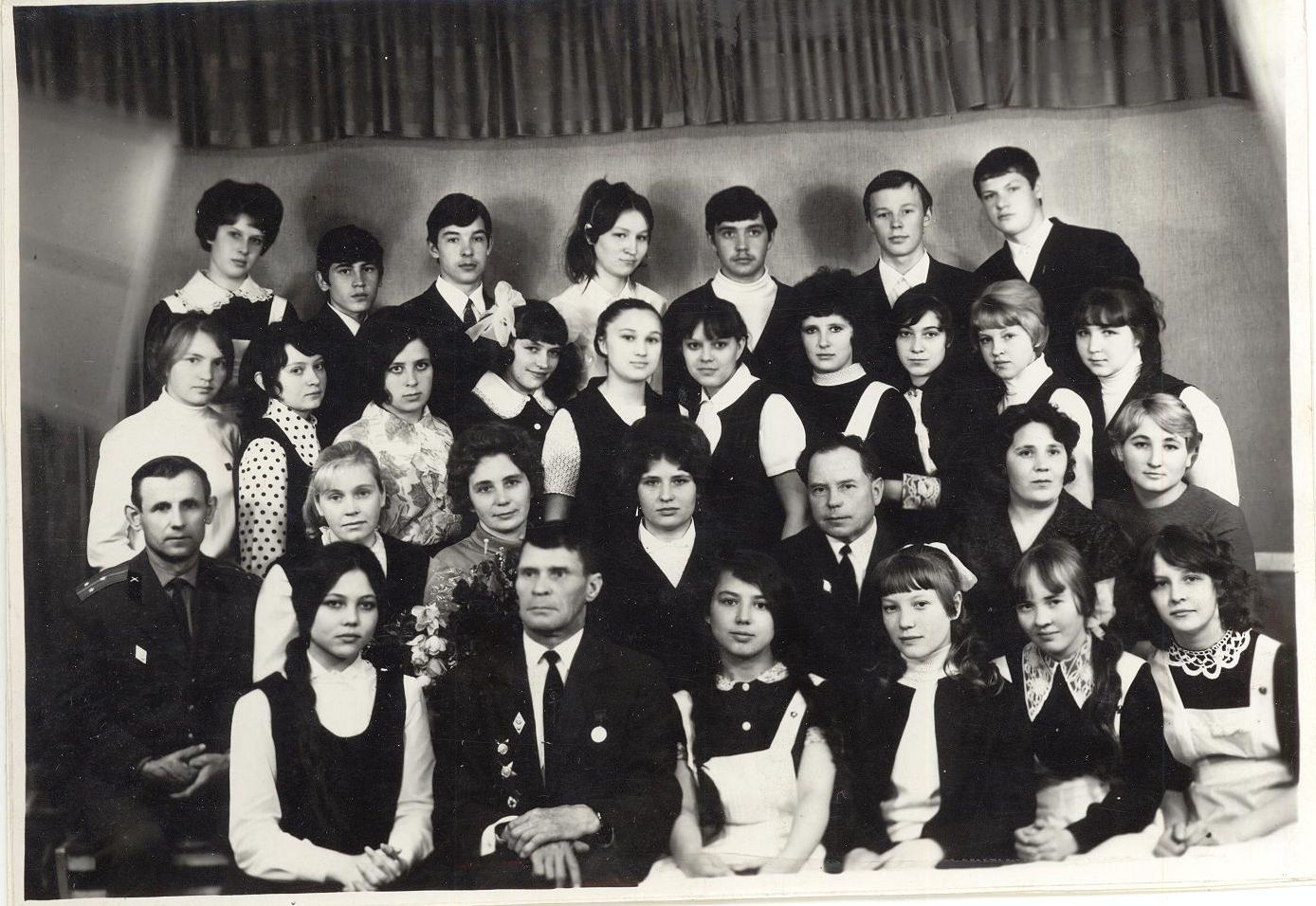 1972 год 10А кл школа 16 Кемерово