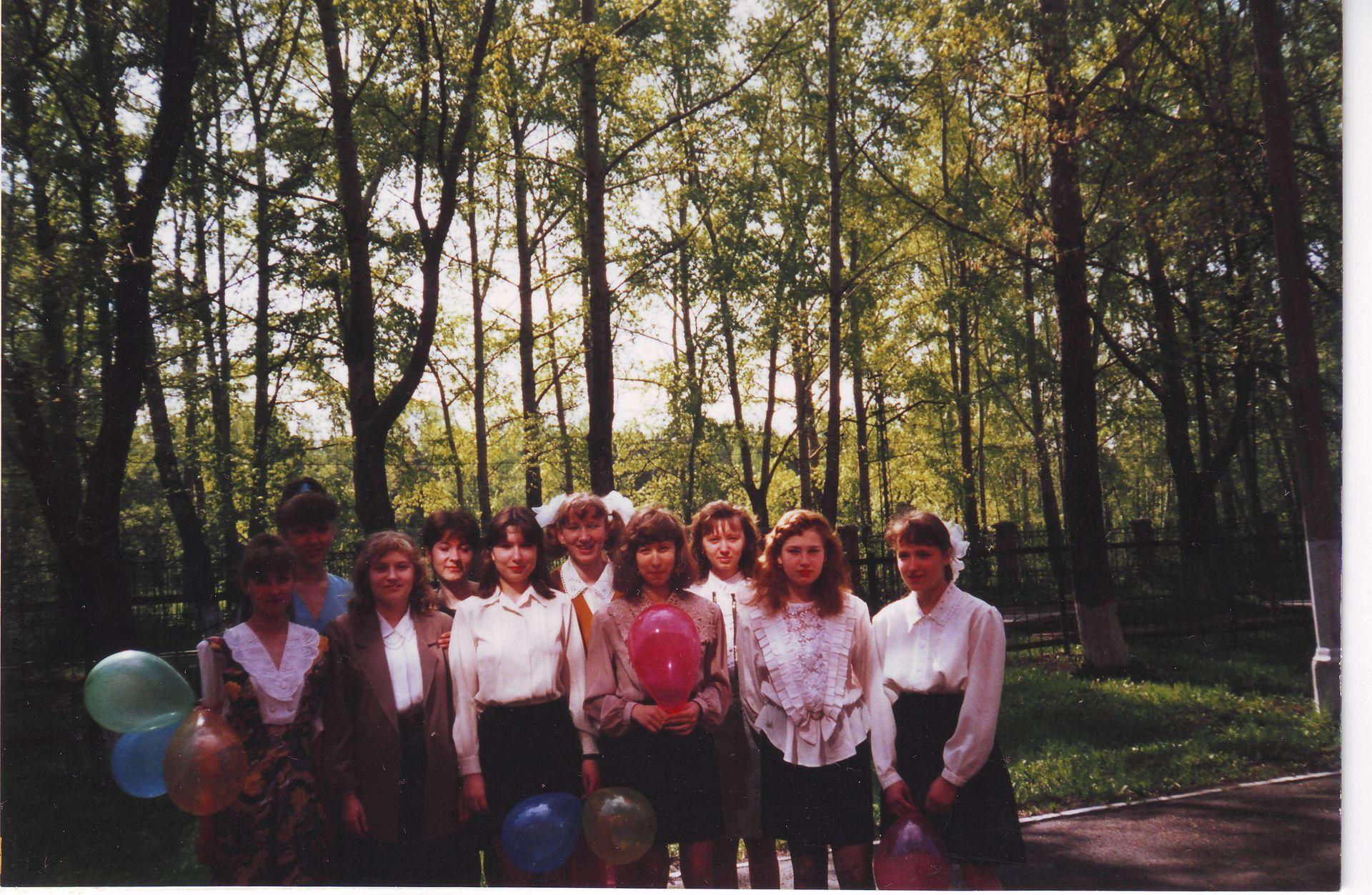 1996 год девушки школа 16 Кемерово