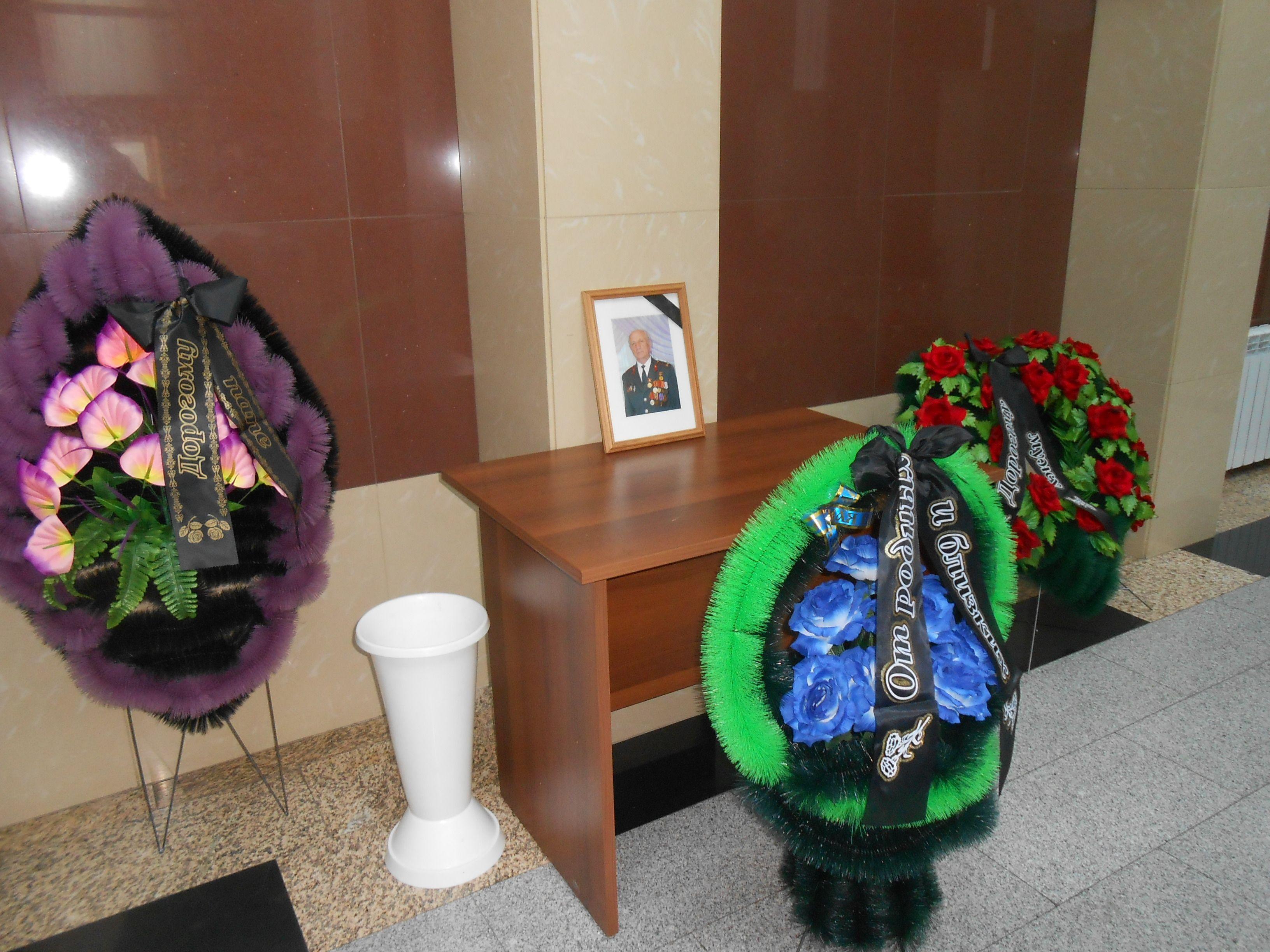 Похороны Кособуцкого В.У.