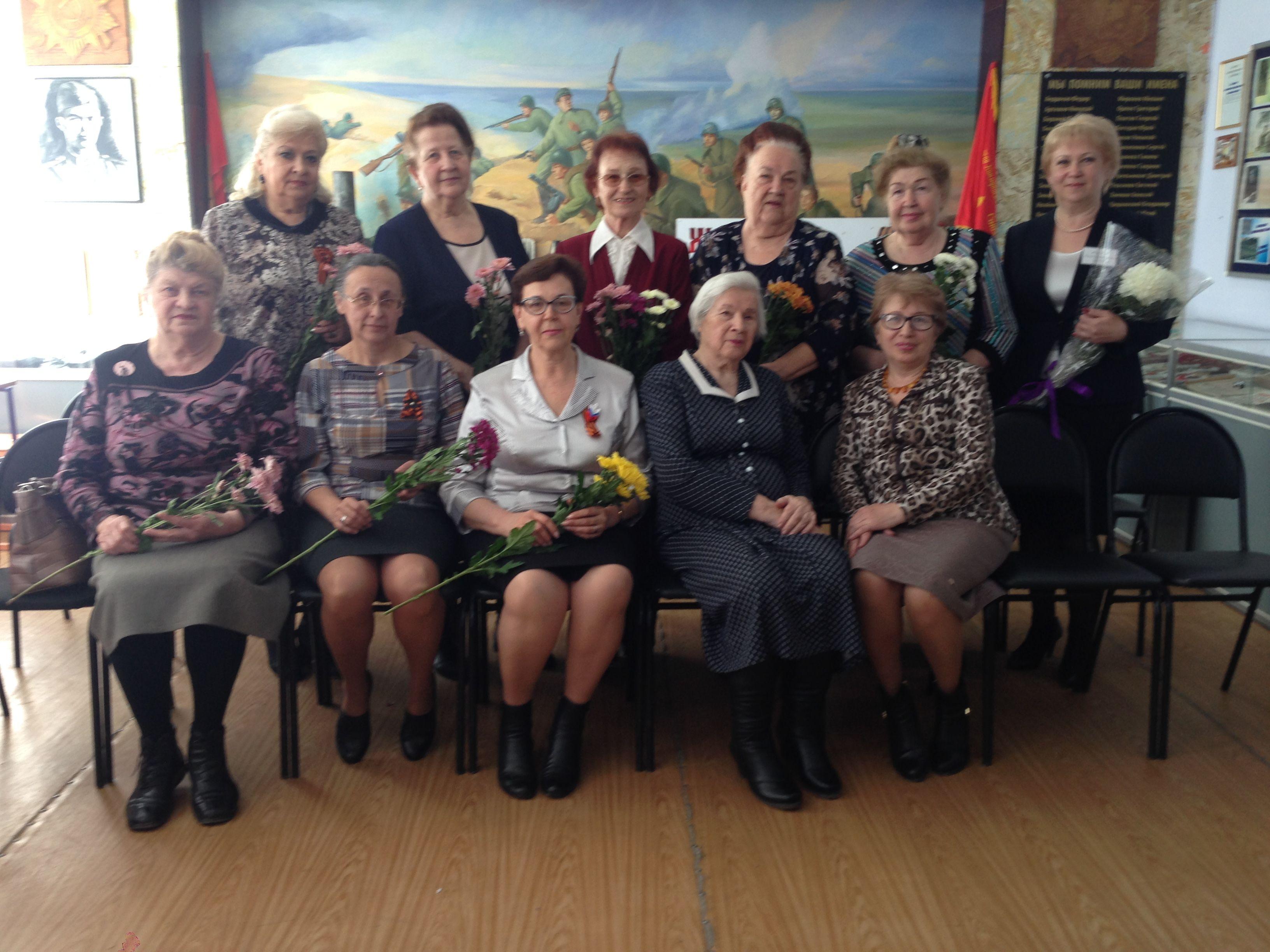 Председатели комиссий городского совета ветеранов