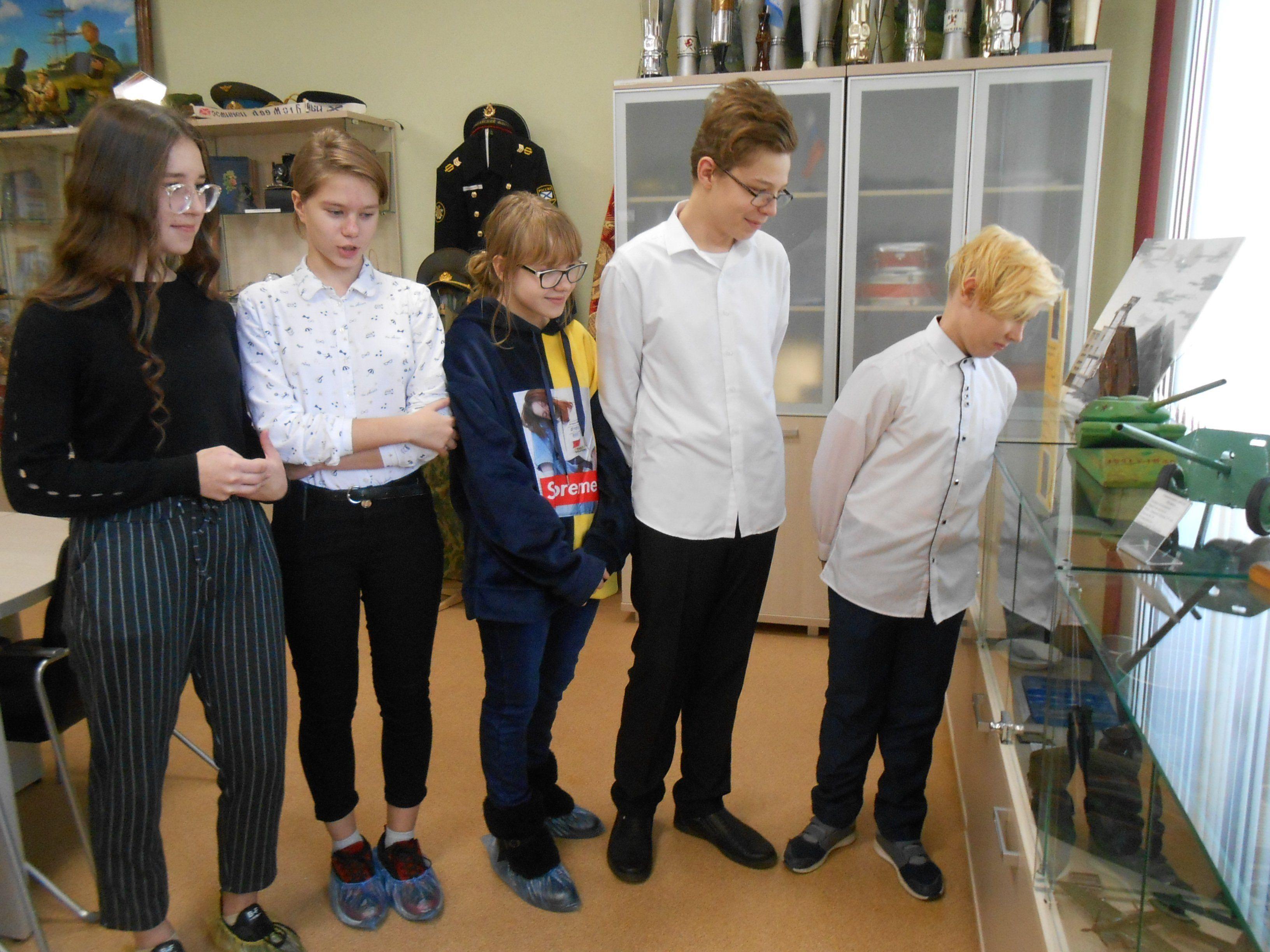 Музей школы №34