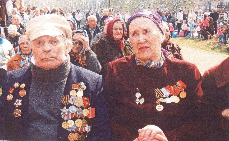 Колотилин Н.М. с женой Анной Игнатьевной