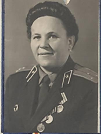Орлова Е.В., послевоенное фото