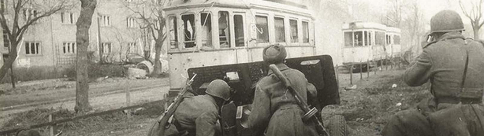 Артиллеристы 1945-го