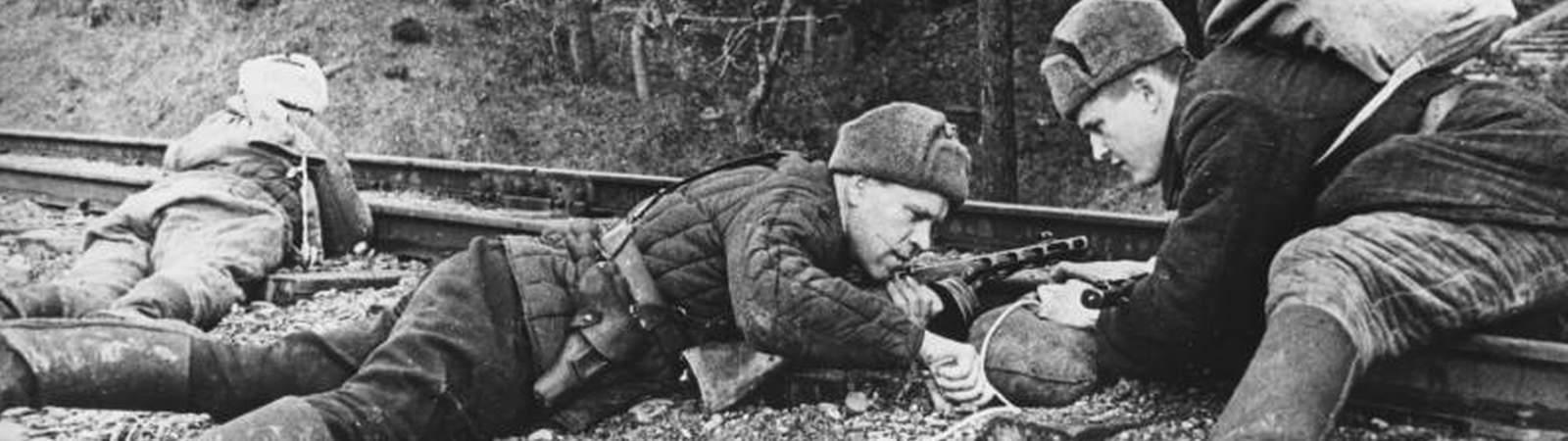 Воины Великой Отечественной войны