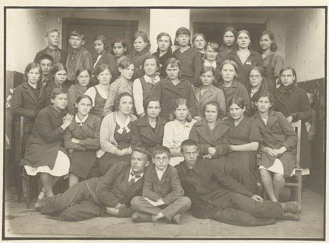 1938 год школа 16 Кемерово