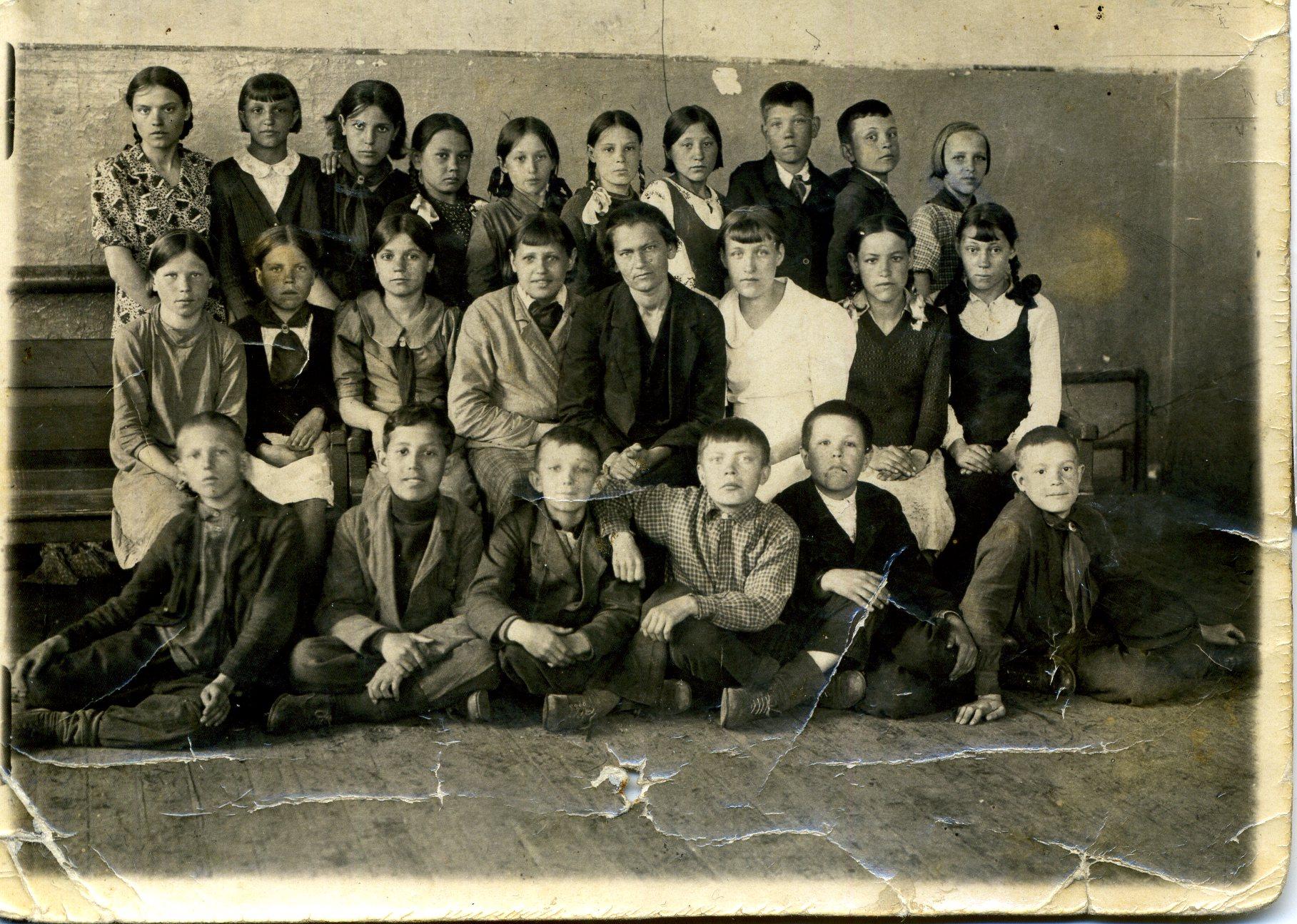 1938-1939 школа 16 Кемерово