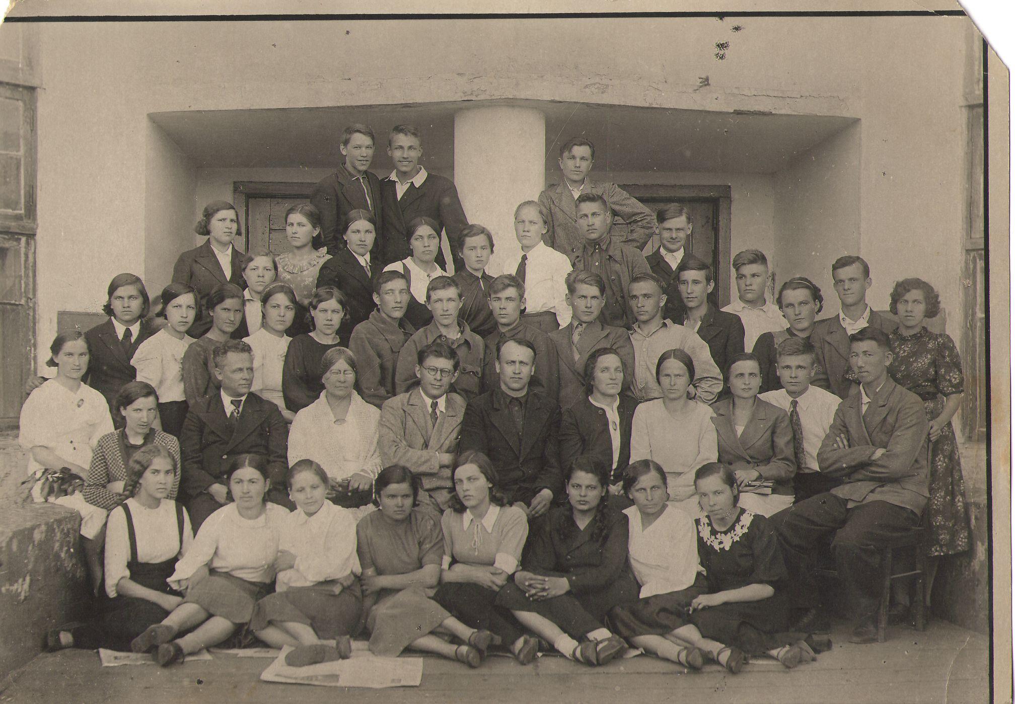 1940 год РУЗАНОВА ГАЛИНА школа 16 Кемерово