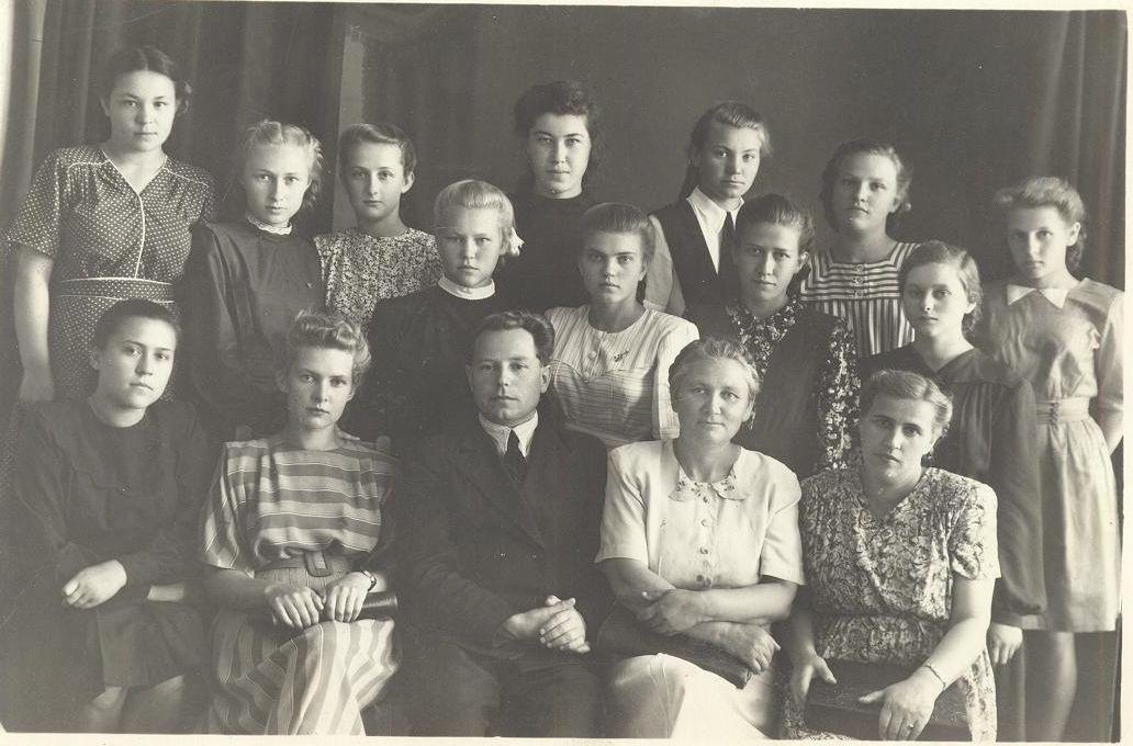 1948г. школа 16 Кемерово