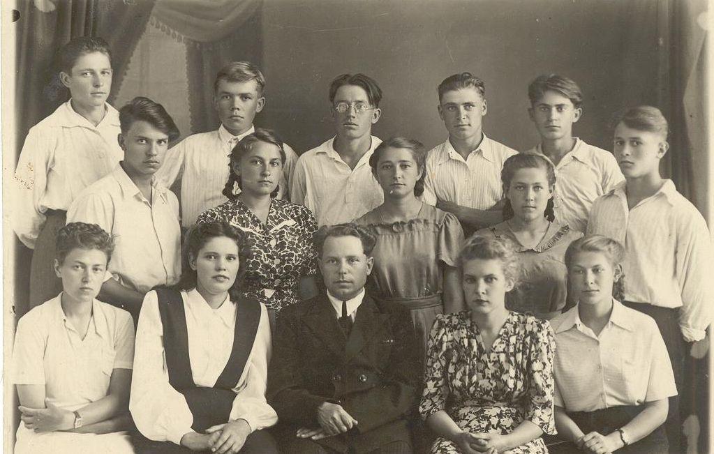 1949 год школа 16 Кемерово