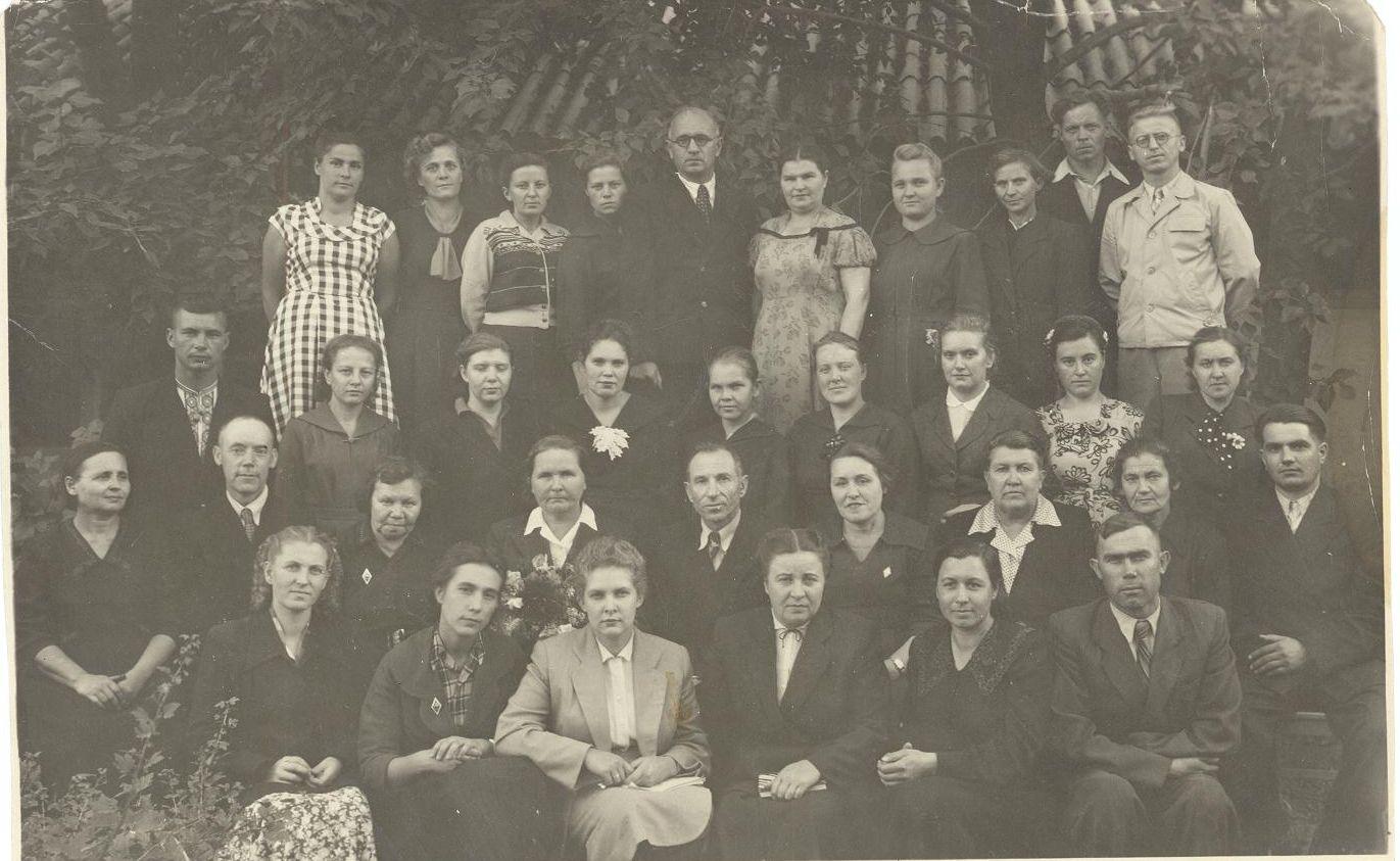 1949-1950 учебный год учителя школа 16 Кемерово