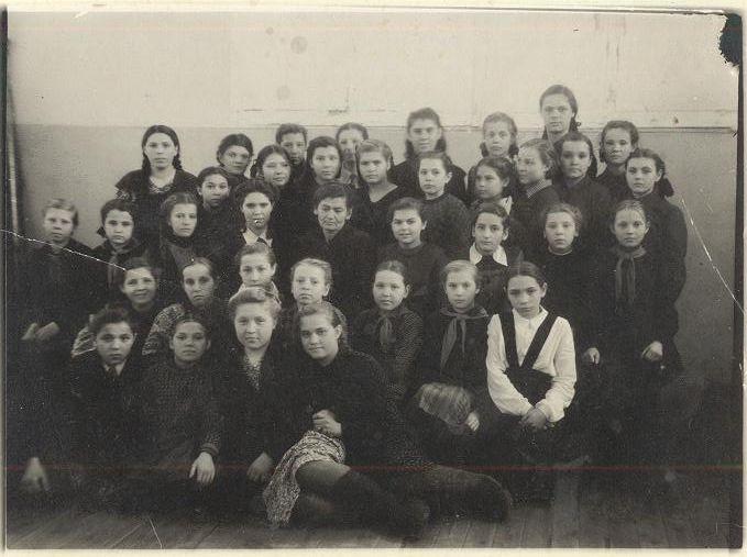1950 г. 5 КЛАСС школа 16 Кемерово