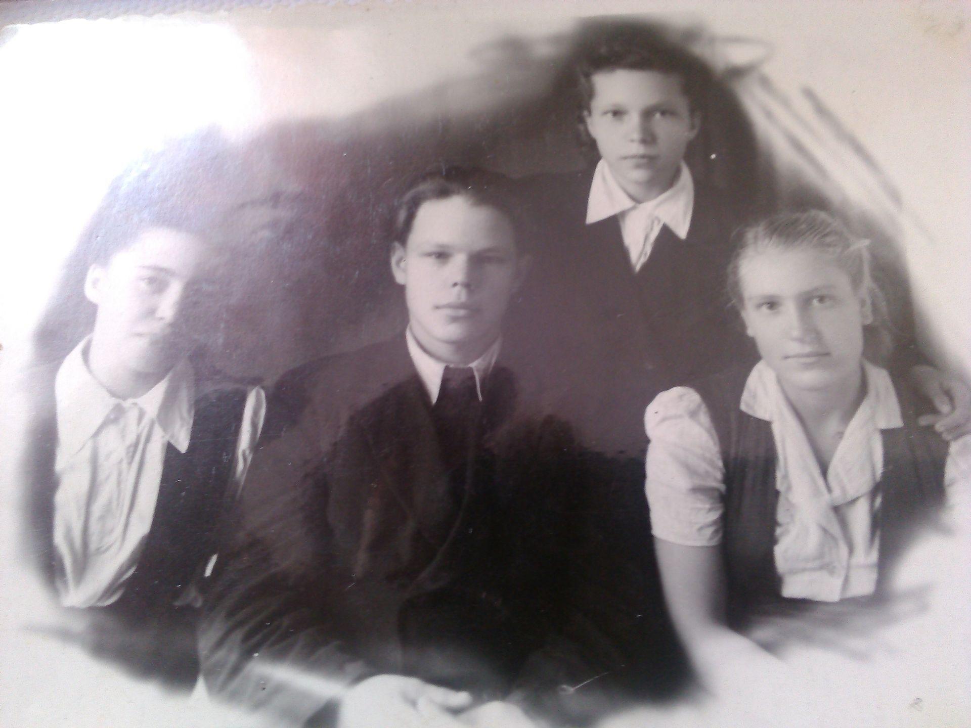 1952год школа 16 Кемерово