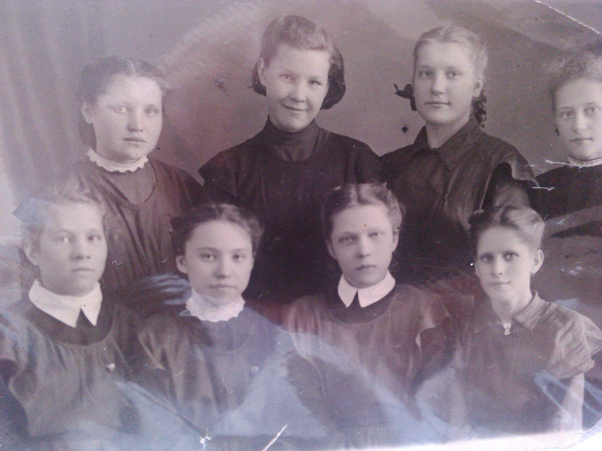 1952 год школа 16 Кемерово