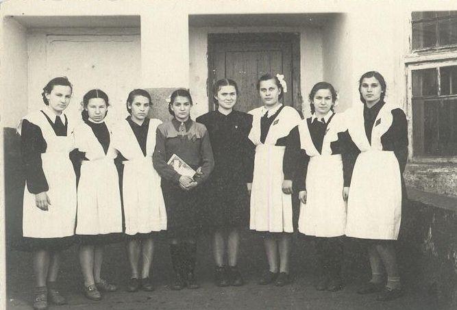1956год школа 16 Кемерово