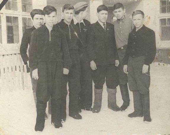 1956 г 8 кл. школа 16 Кемерово
