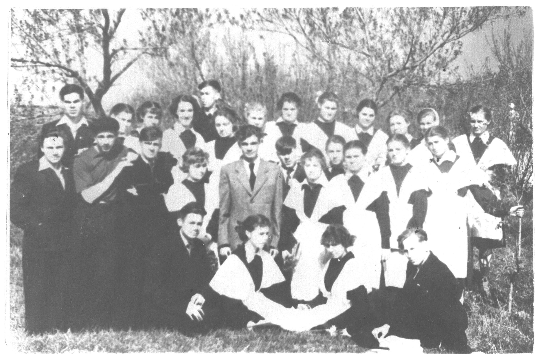 1958год школа 16 Кемерово